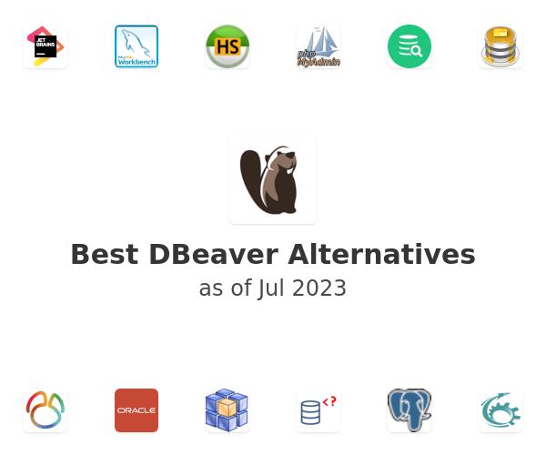 Best DBeaver Alternatives