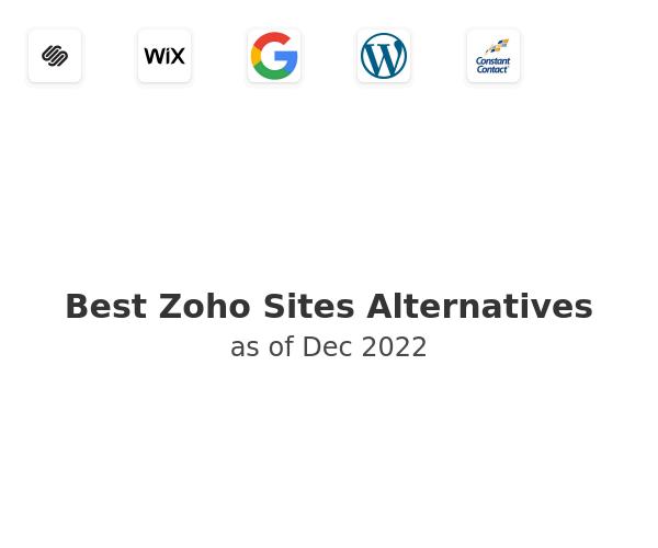 Best Zoho Sites Alternatives