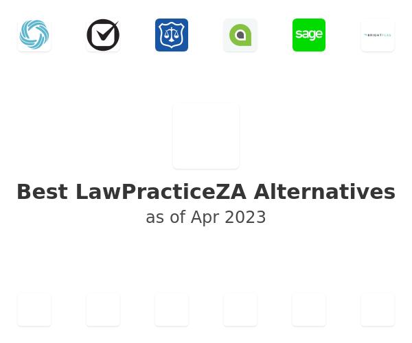 Best LawPracticeZA Alternatives