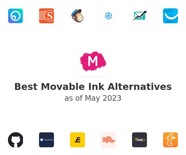 Best Movable Ink Alternatives