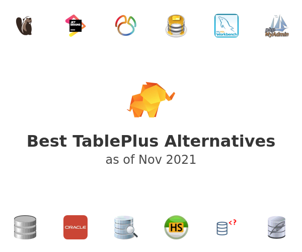 Best TablePlus Alternatives