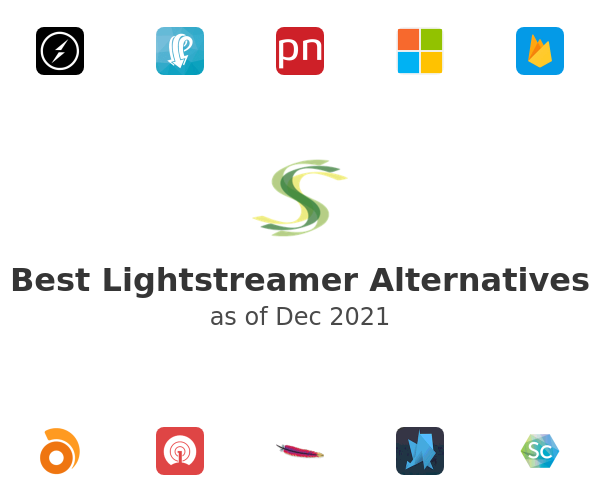 Best Lightstreamer Alternatives