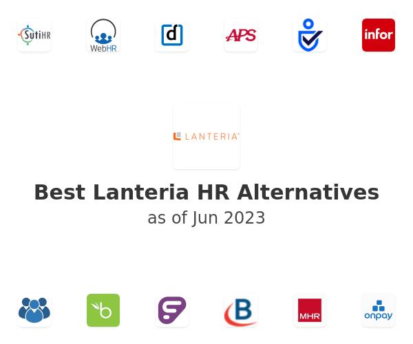 Best Lanteria HR Alternatives