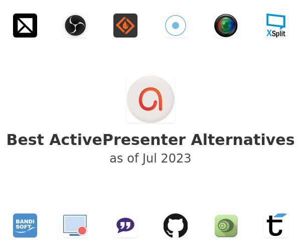 Best ActivePresenter Alternatives