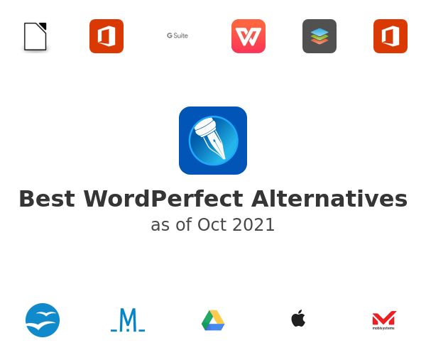 Best WordPerfect Alternatives
