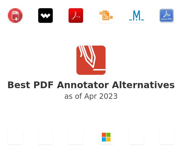 Best PDF Annotator Alternatives