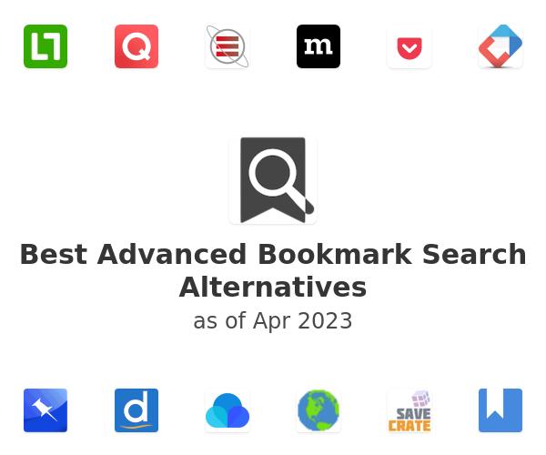 Best Advanced Bookmark Search Alternatives