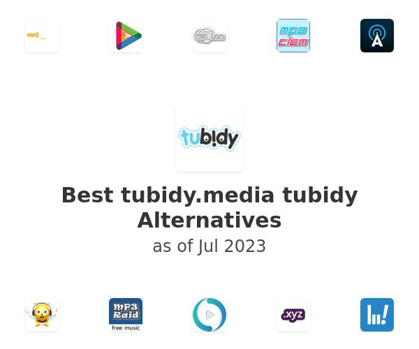 Best tubidy Alternatives