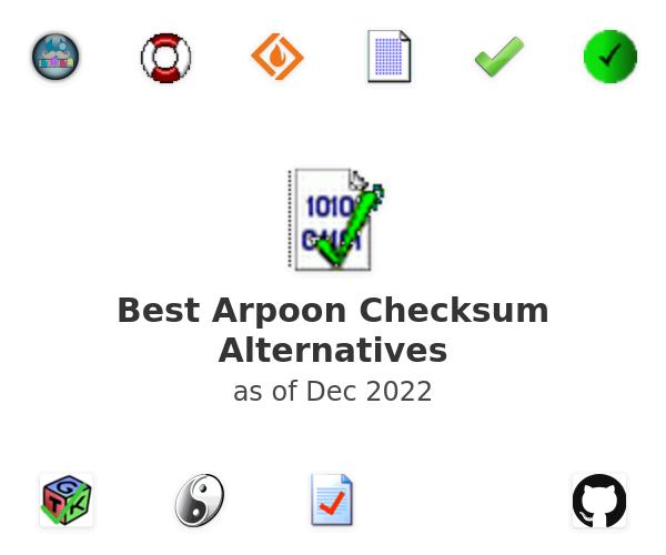 Best Arpoon Checksum Alternatives