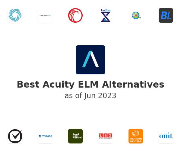 Best Acuity ELM Alternatives