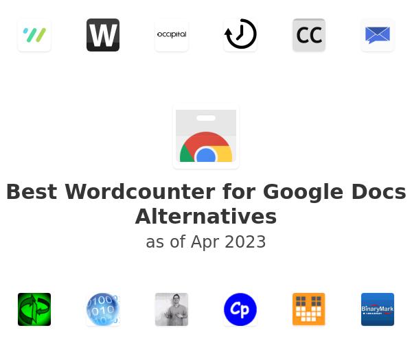 Best Wordcounter for Google Docs Alternatives