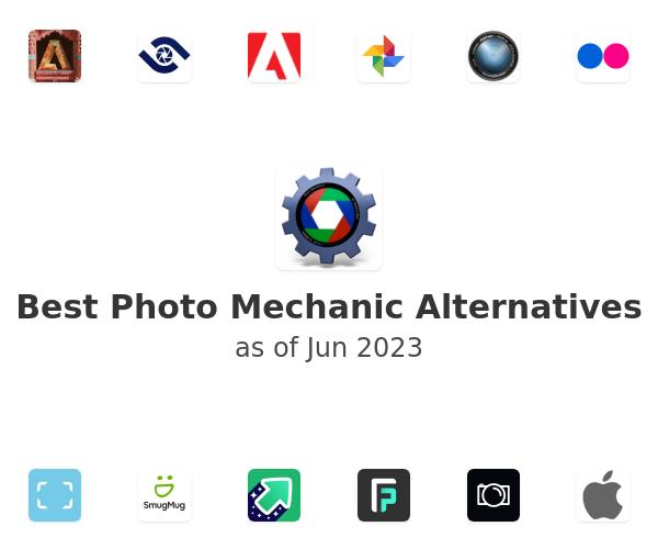 Best Photo Mechanic Alternatives
