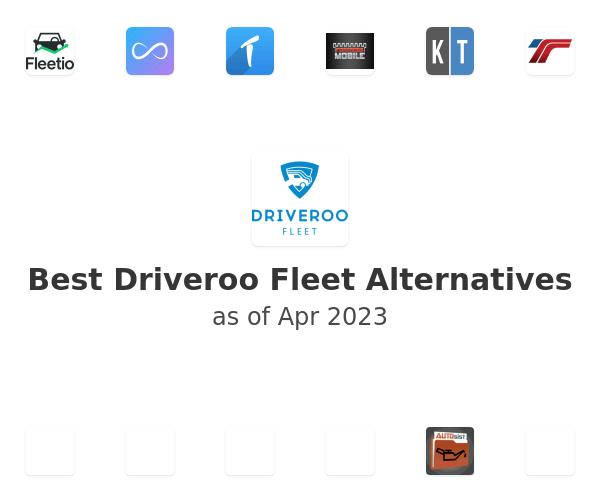 Best Driveroo Fleet Alternatives