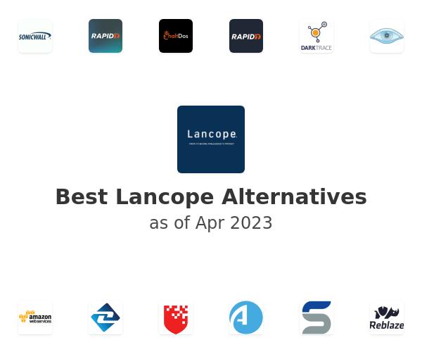 Best Lancope Alternatives
