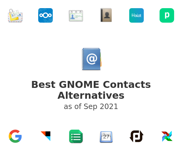 Best GNOME Contacts Alternatives