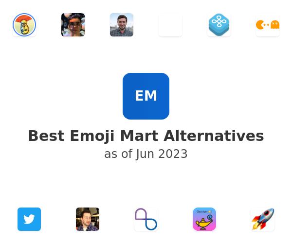 Best Emoji Mart Alternatives