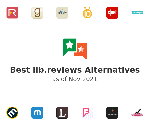 Best lib.reviews Alternatives