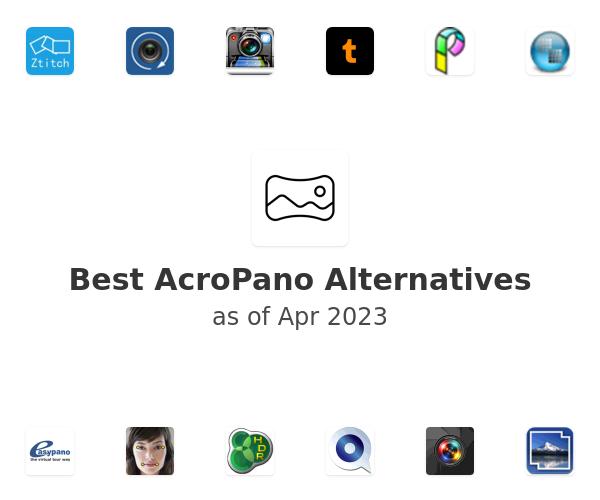 Best AcroPano Alternatives