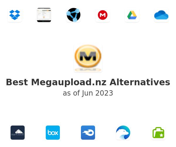 Best Megaupload.nz Alternatives