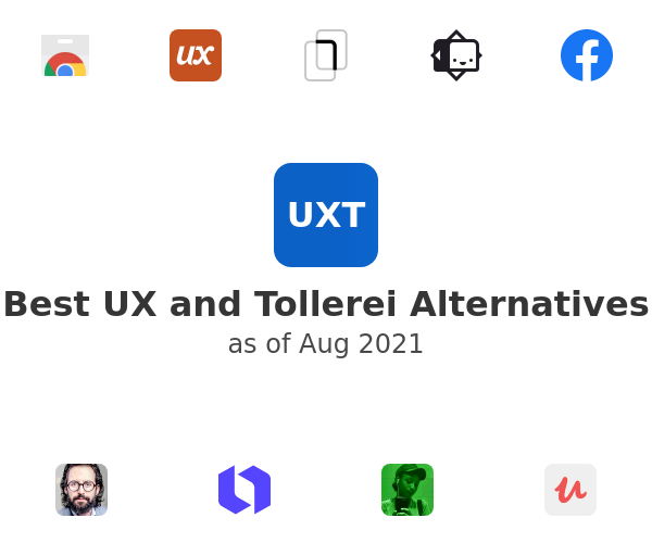 Best UX and Tollerei Alternatives