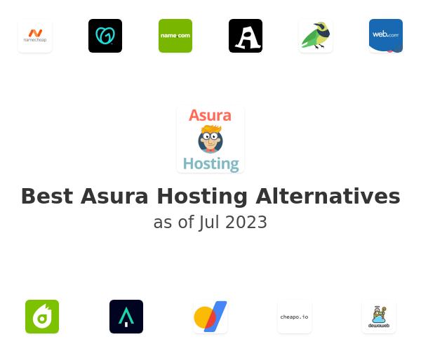 Best Asura Hosting Alternatives