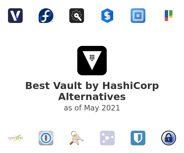 Best Vault by HashiCorp Alternatives