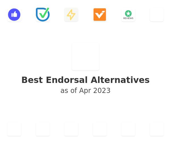 Best Endorsal Alternatives