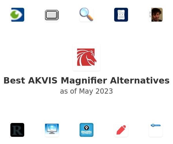 Best AKVIS Magnifier Alternatives