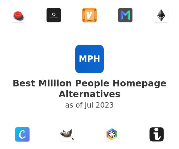 Best Million People Homepage Alternatives