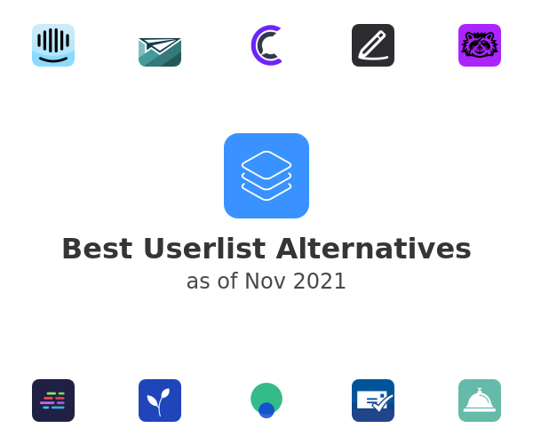 Best Userlist Alternatives