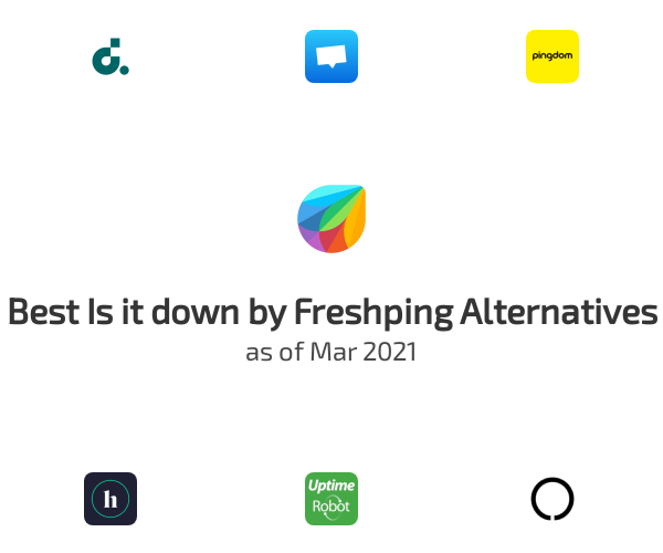 Best Is it down by Freshping Alternatives