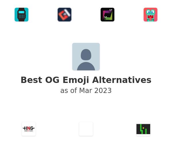 Best OG Emoji Alternatives