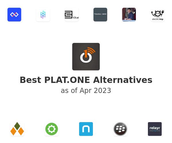 Best PLAT.ONE Alternatives