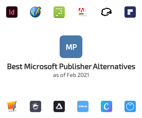 Best Microsoft Publisher Alternatives