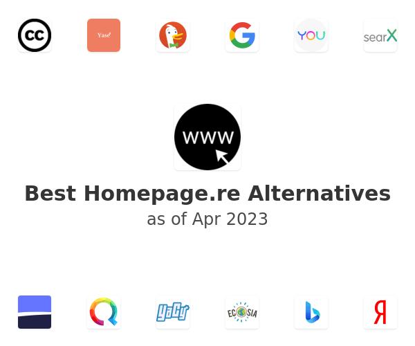 Best Homepage.re Alternatives