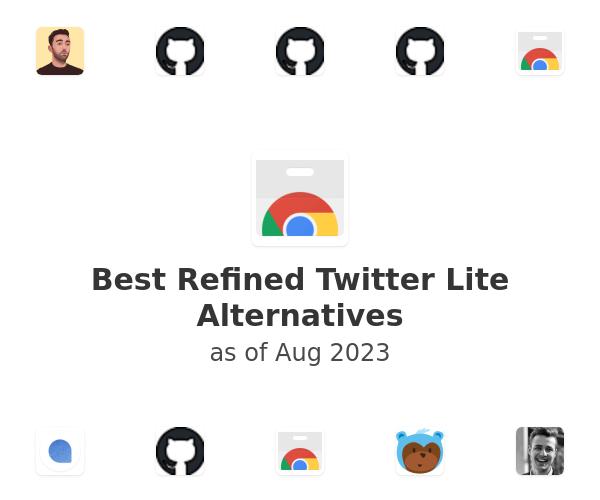 Best Refined Twitter Lite Alternatives