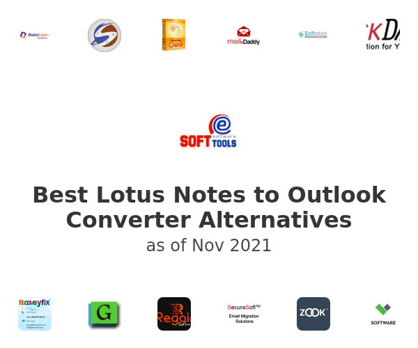 Best Lotus Notes to Outlook Converter Alternatives