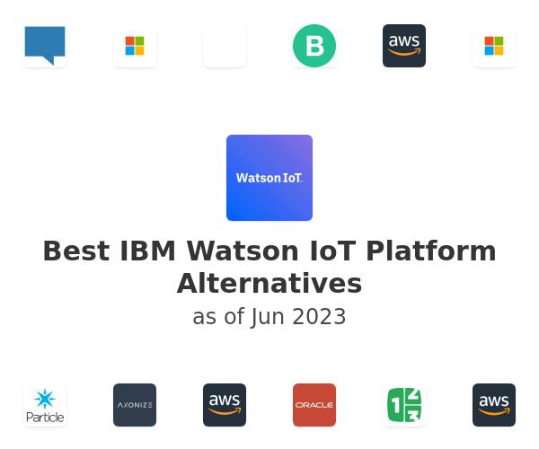 Best IBM Watson IoT Platform Alternatives