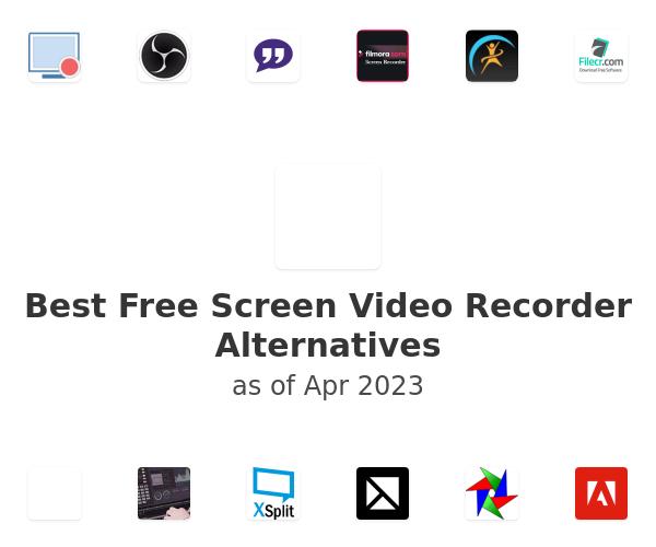 Best Free Screen Video Recorder Alternatives