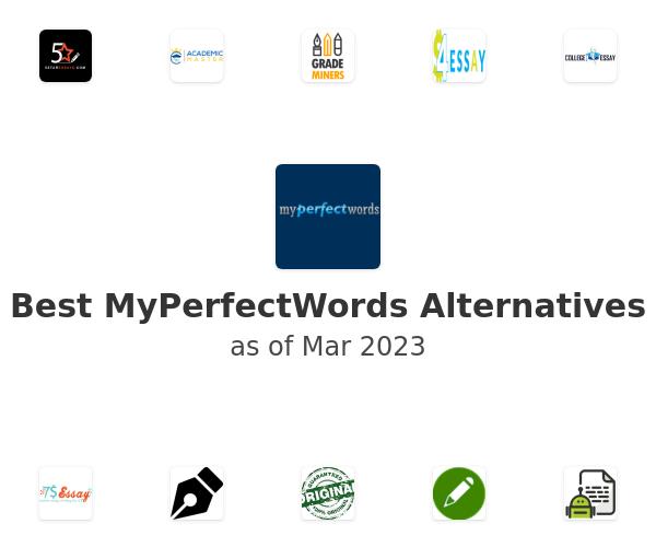 Best MyPerfectWords Alternatives