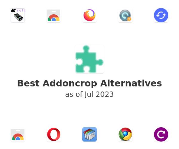 Best Addoncrop Alternatives