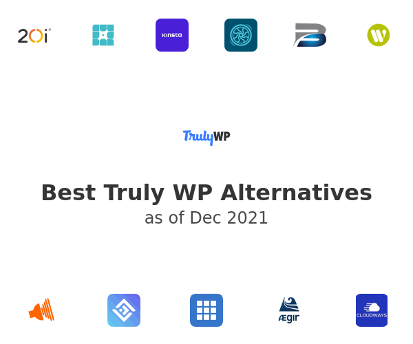 Best Truly WP Alternatives