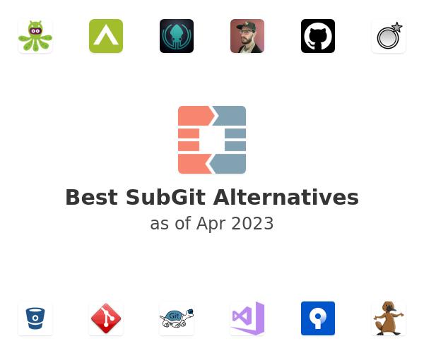 Best SubGit Alternatives