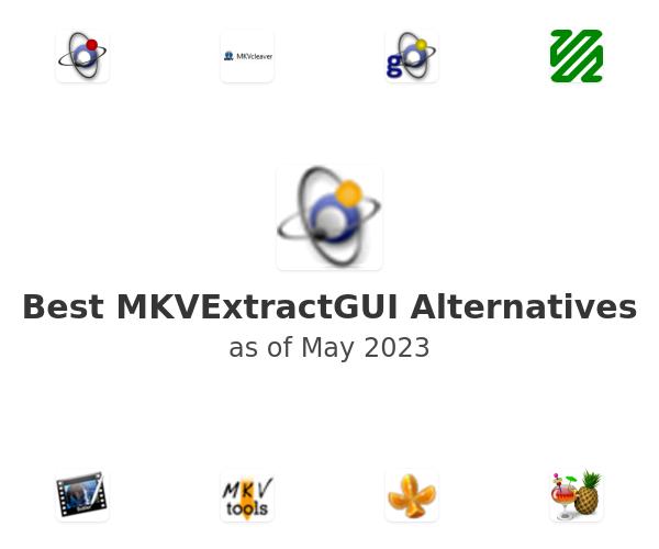 Best MKVExtractGUI Alternatives