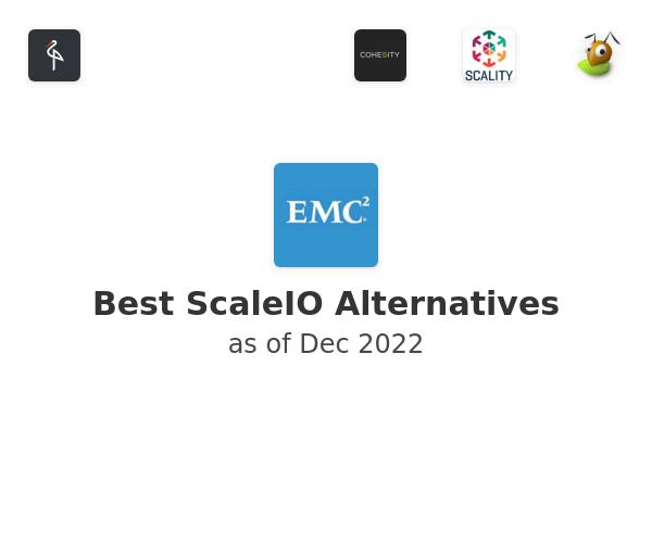Best ScaleIO Alternatives