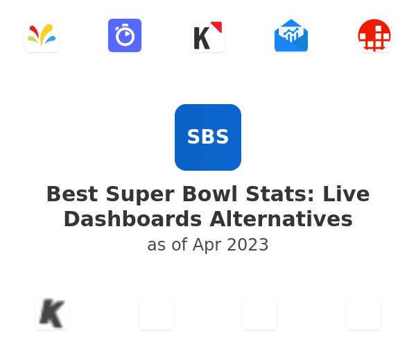 Best Super Bowl Stats: Live Dashboards Alternatives