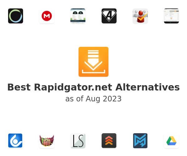 Best Rapidgator.net Alternatives
