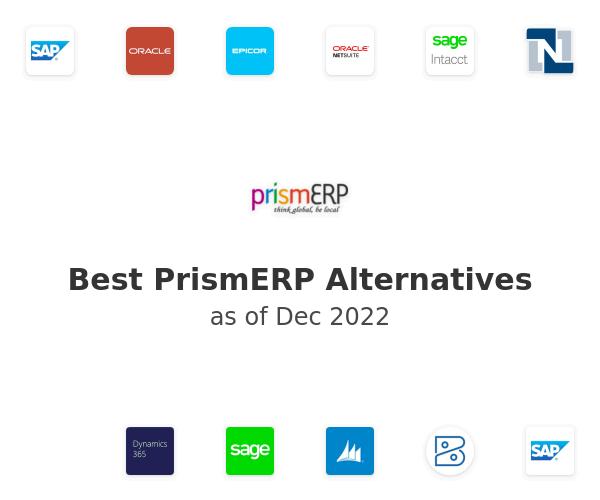 Best PrismERP Alternatives