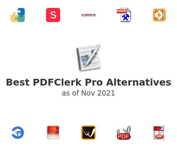 Best PDFClerk Pro Alternatives