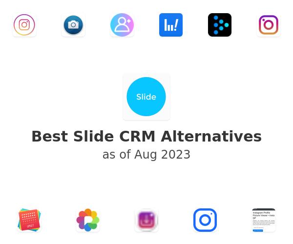 Best Slide CRM Alternatives